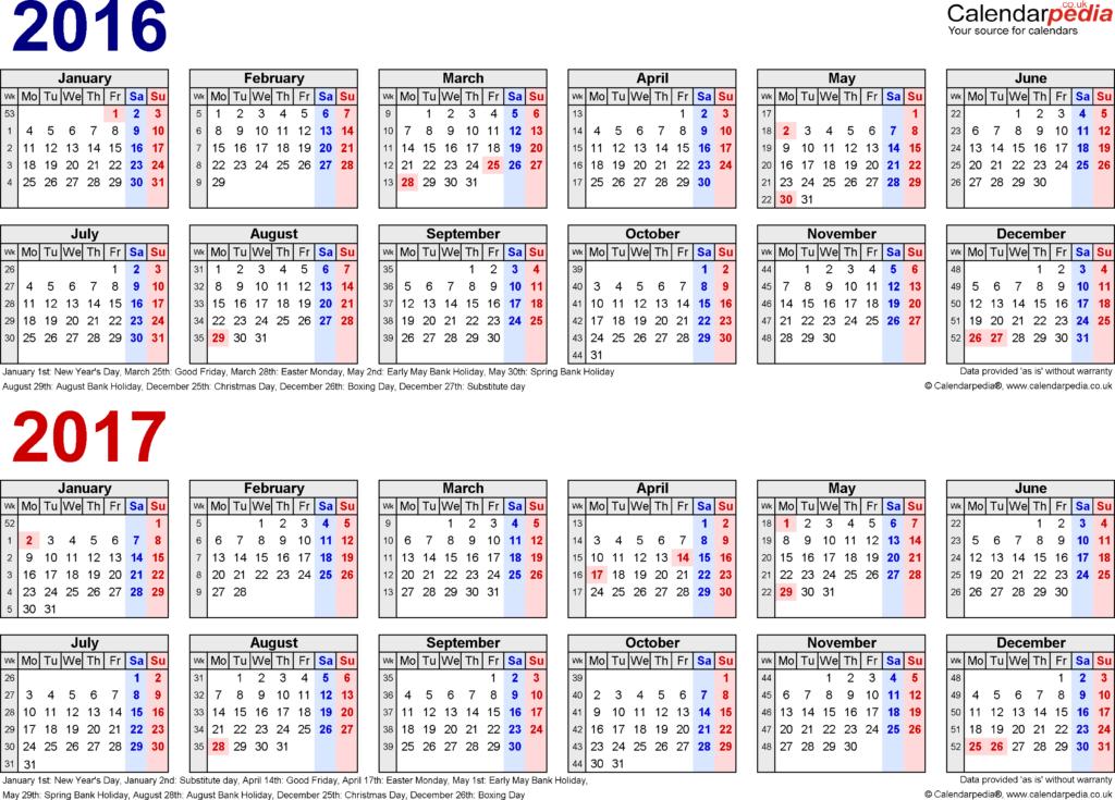 Malayalam Calendar October 2016